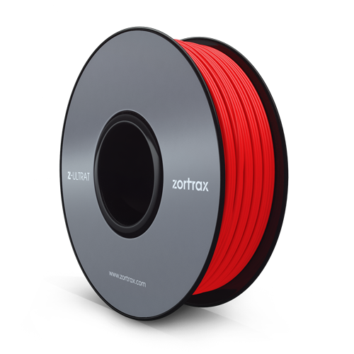 Zortrax Z-ULTRAT Red 赤 1.75mm フィラメント