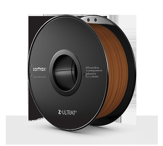Zortrax Z-ULTRAT Brown 茶 1.75mm フィラメント